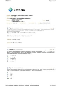 AV2 Fisica Teórica I