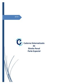 Caderno Sistematizado de Direito Penal   Parte Especial (2018)