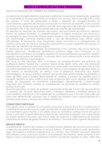 15 - INÍCIO E CONDUÇÃO DA VIDA PROSSIONAL