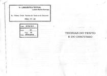 KARNOPP, L. B. Linguístia textual in Flores, O. Teorias do Text