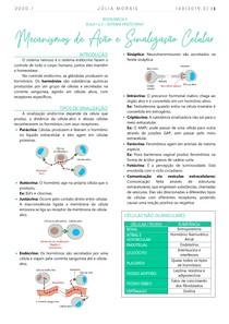 Mecanismos de Ação e Sinalização Celular