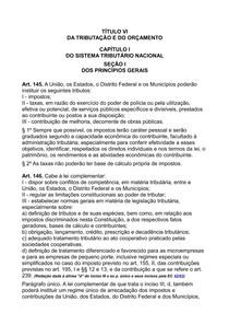 Documento Do Sistema Tributário Nacional (Arts. 145 a 162) - Sefaz