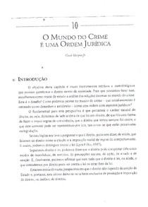 05. Marques Jr, Gessé - O mundo do crime