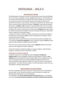 PATOLOGIA INFLAMAÇÃO AGUDA II