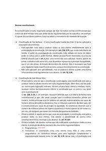 Normas constitucionais- Thiago Varella