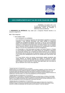 Lei 64 90 pdf to excel