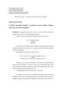 Capítulo 31 - Economia -Questão 2