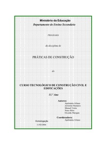 Engenharia civil   Praticas de Construçao