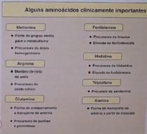 Aminoácidos clinicamente importantes