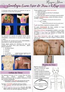 Exame físico do tórax e aparelho respiratório