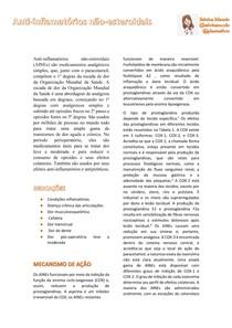 AINES - Anti-inflamatórios não-esteroidais