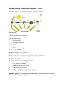 Responsabilidade Social e Meio Ambiente