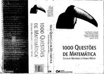 1000 Questões de Matemática-Escolas Militares e Ensino Médio