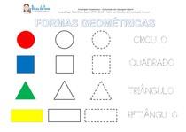Atividades com formas geométricas 1