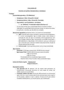 Clínica Médica 20 - Dist. do Eq. HE e AB