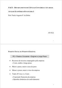 Analise Econômico Financeira - Cap. 9 (2)