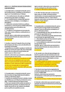 POLÍTICAS SOCIAIS PESSOA IDOSA E PESSOA COM DEFICIÊNCIA