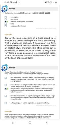 Artigos e Relatórios de Leitura. 11
