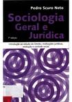 Sociologia Geral e Jurídica Pedro Scuro Neto