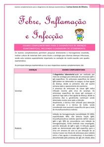 exames complementares para o diagnóstico de doenças exantemáticas e fluxograma de atendimento