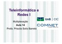 Teleinformática e Redes 1 - Multiplexação