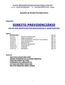 DireitoPrevidenciario