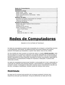 Redes de Computadores Introducao