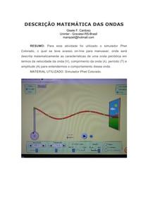 ATIVIDADE PRÁTICA - atividade prática ondas e escala decibel