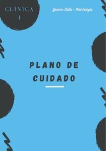 PLANO DE CUIDADO - CLÍNICA I