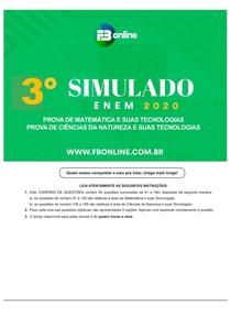 04 Simulado Natureza e Matemática