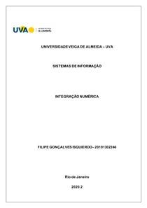 AVA2 - CÁLCULO NÚMERICO