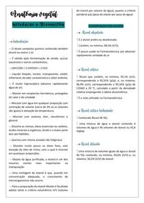 introdução a álcoometria