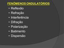 Fenomenos Ondulatorios