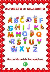 Alfabeto c Silabário Materiais Pedagógicos