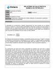 Relatório de quimica do petróleo I Densidade