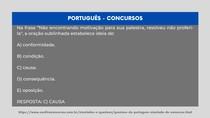 Português - Oração Subordinada