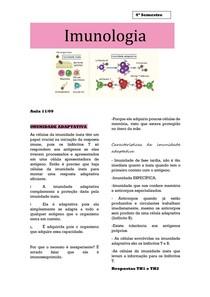 Imunologia- Imunidade adaptativa