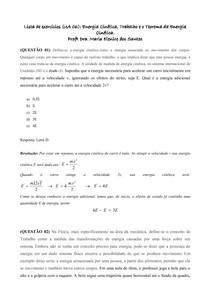 Lista UA 6_Energia Cinética,_Trabalho e o Teorema da Energia Cinética