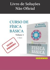 Caderno de Exercicios e Soluções Moysés Eletromagnetismo vol. 3 4ª Edição