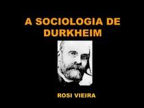 CADERNO 1 A SOCIOLOGIA DE DURKHEIM