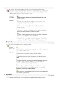 Avaliação On Line 5 (AOL 5)   Questionário