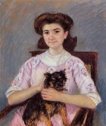 Mary Cassat - portrait_of_marie_louise_durand_ruel