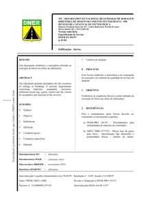 DNER ES352 97   Edificações   forros