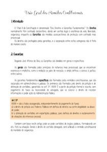 10 - Visão Geral dos Remédios Constitucionais