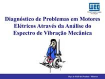 Espectro Vibração em Motores Elétricos