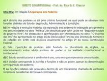 FMU   DP.ADAP   DIREITO CONSTITUCIONAL   SEPARAÇÃO DE PODERES