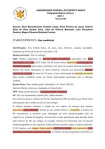IBC - Caso clínico V - Cisto de úraco