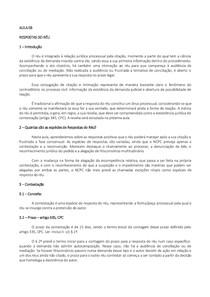 PROCESSO CIVIL II   RESPOSTAS DO RÉU