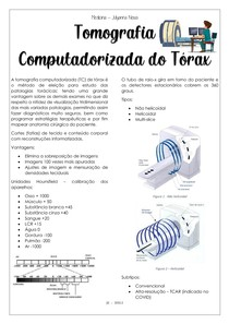 Tomografia computadorizada do tórax