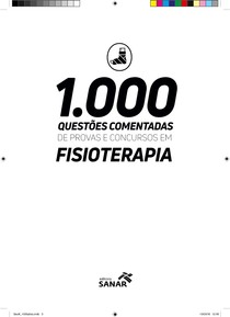 1.000 QUESTÕES COMENTADAS EM CONCURSOS DE FISIOTERAPIA